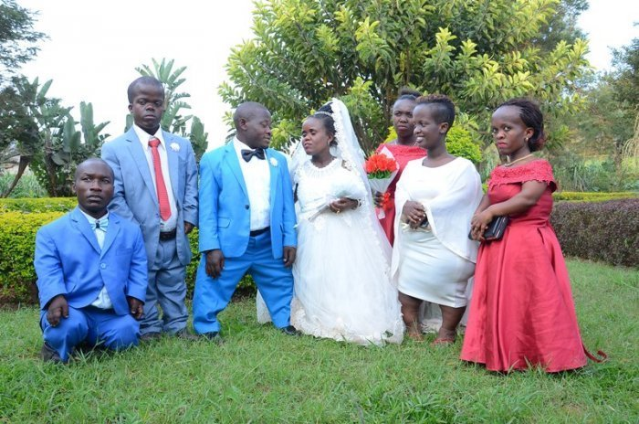 VIDEO: The shortest couple in Rwanda tied the knot in a special wedding
