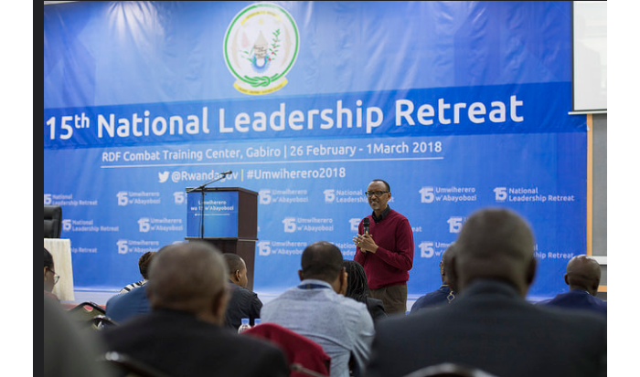Gabiro: President Kagame opens the 15th National Leaders Retreat
